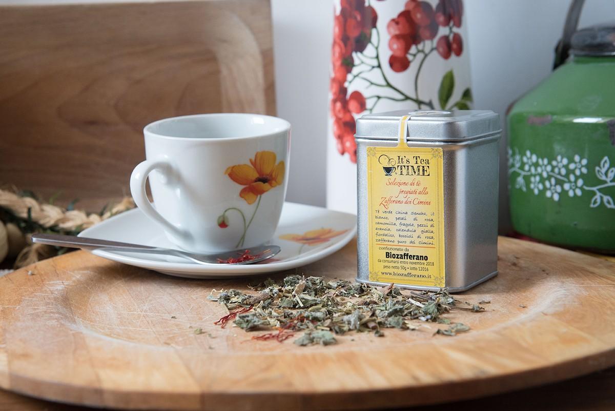 Tè con Zafferano - BioZafferano
