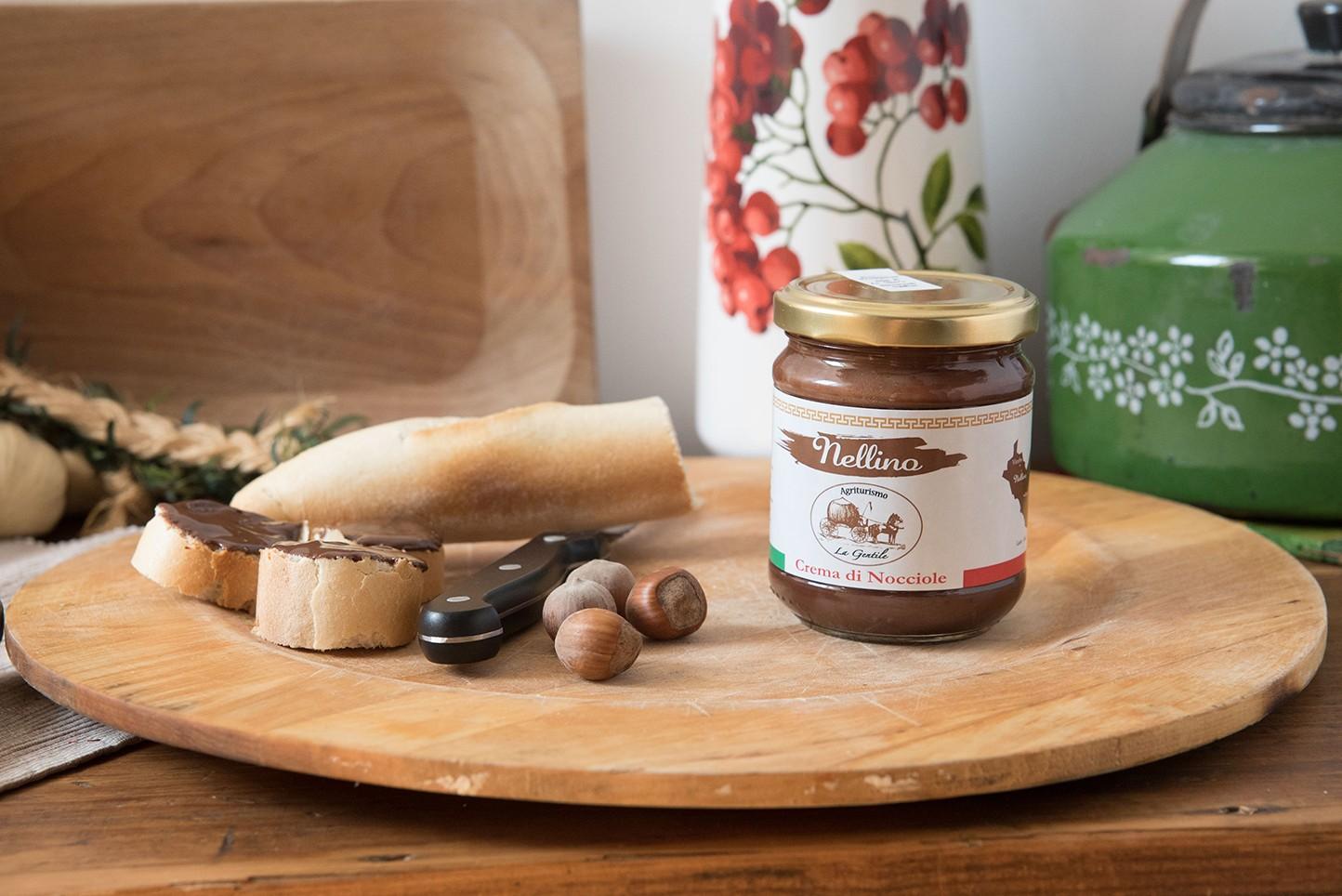 Nellina Crema di Nocciole - 200g - Azienda Agricola La Gentile
