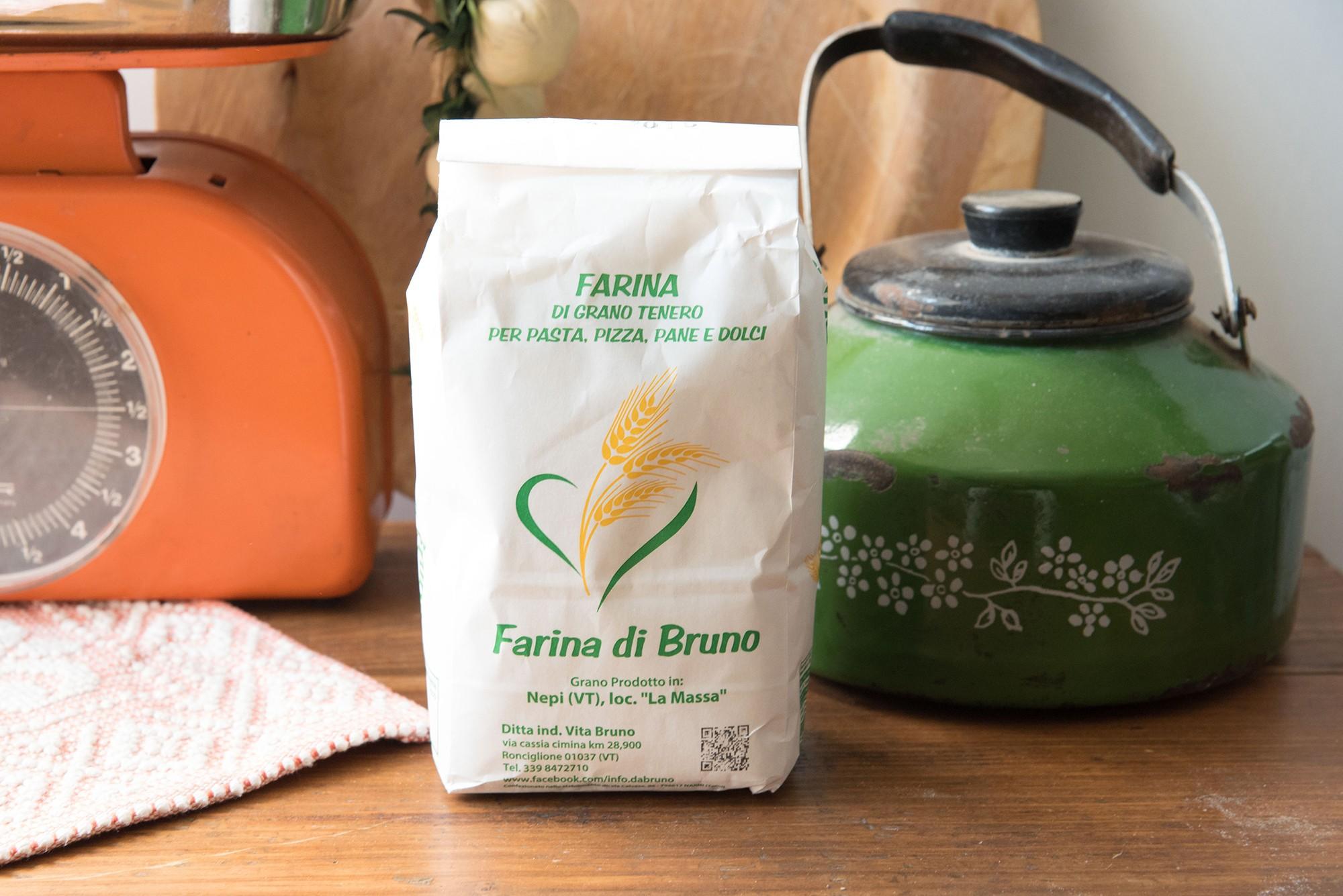 Farina di semola di grano Duro - Da Bruno - 1 Kg