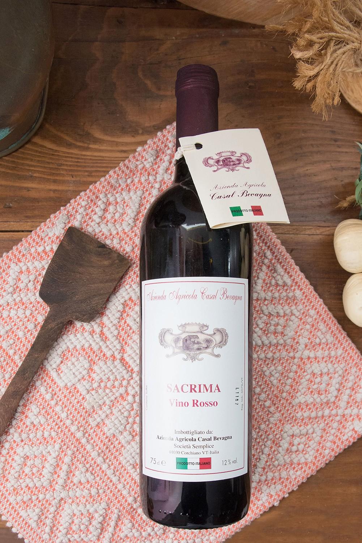 Vino Rosso da Tavola Sacrima - Azienda Agricola Casal Bevagna