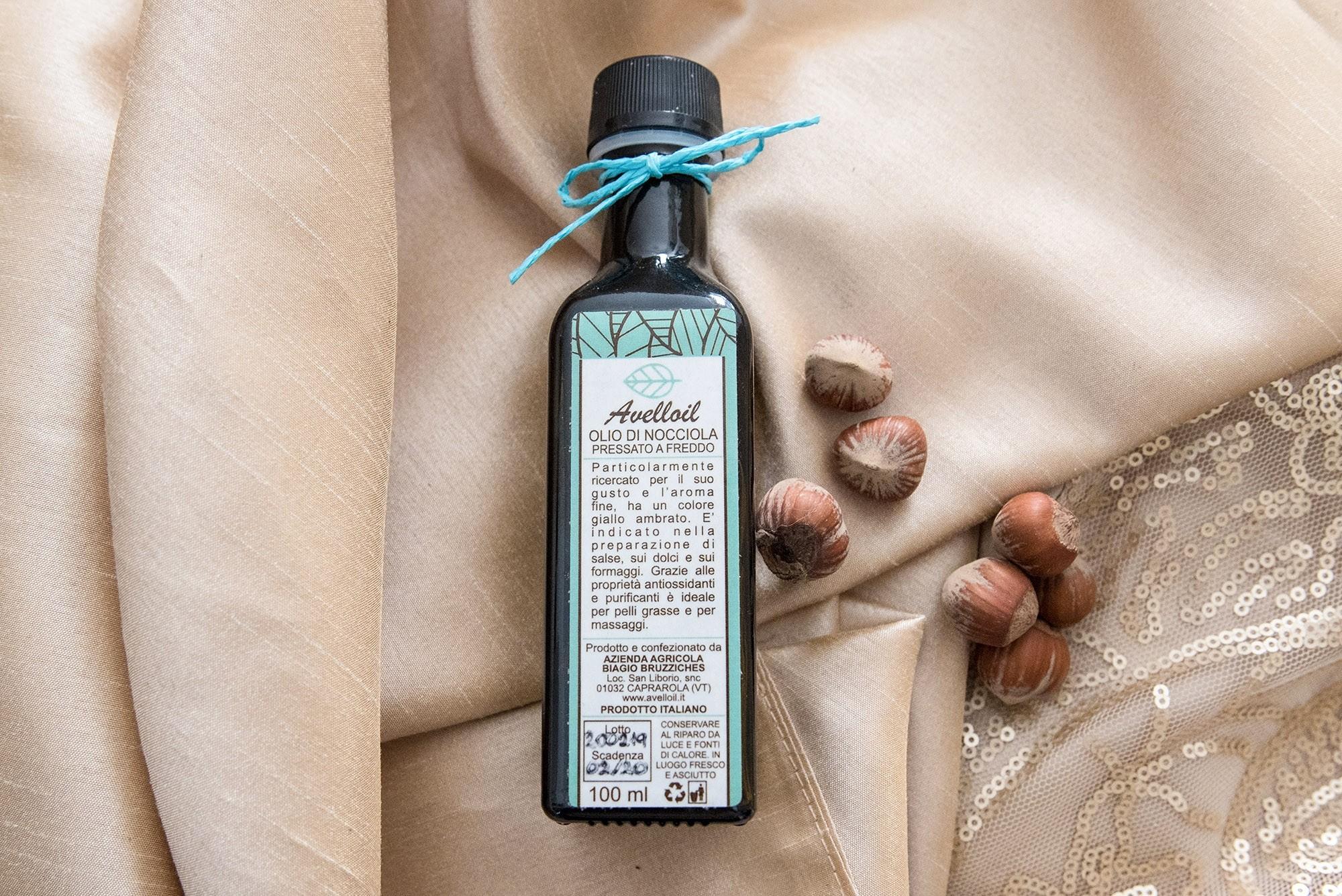 Olio di Nocciola Pressato a freddo - Avelloil - 100 ml