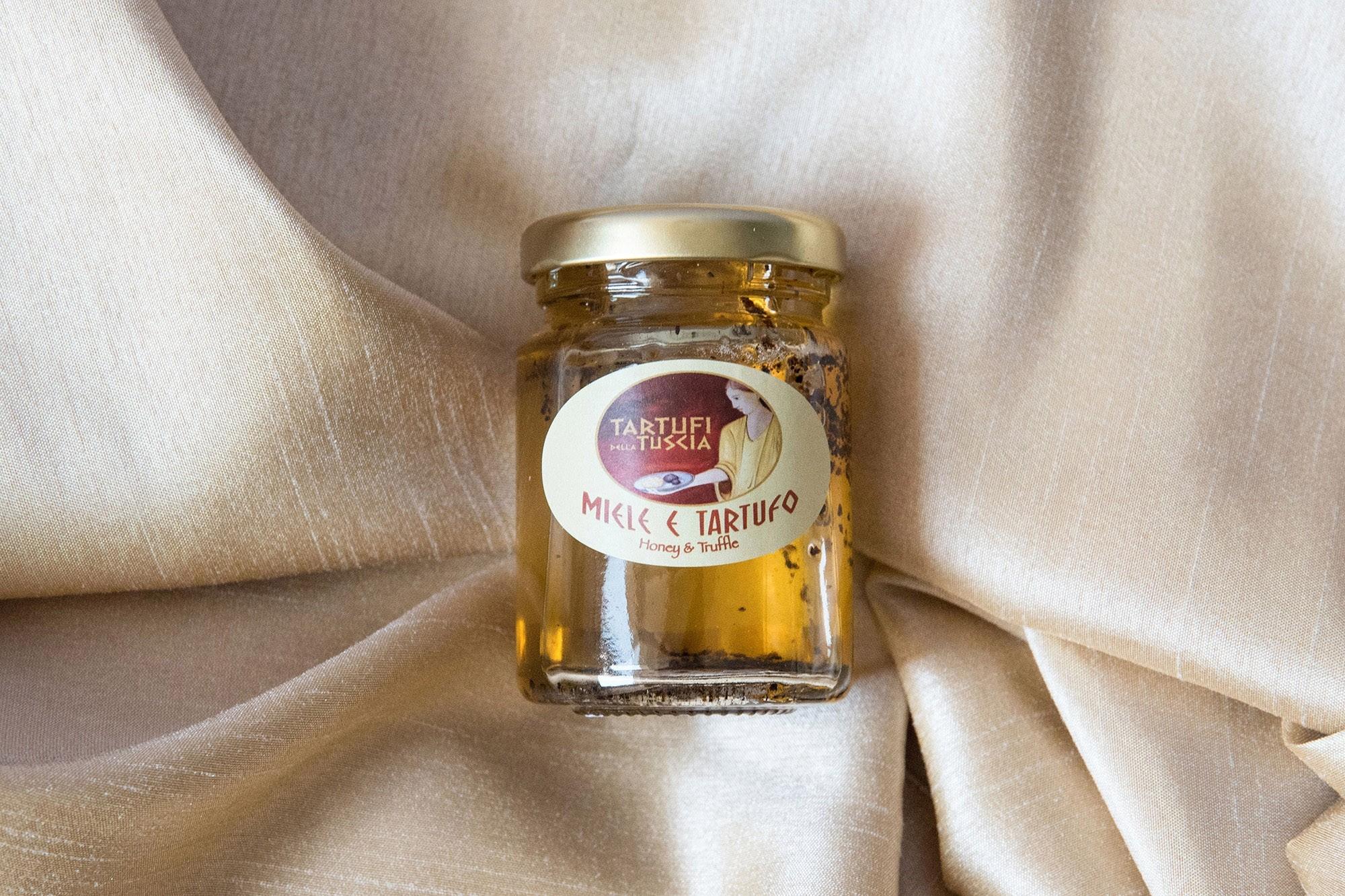 Miele e tartufo - Tartufi della Tuscia - Cose di Macchia - 110 gr