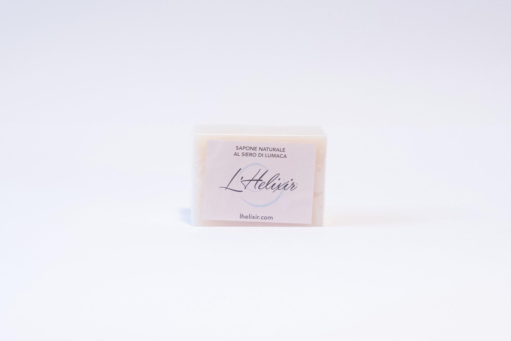 Sapone naturale al Siero di Lumaca - 100g - L'Helixir