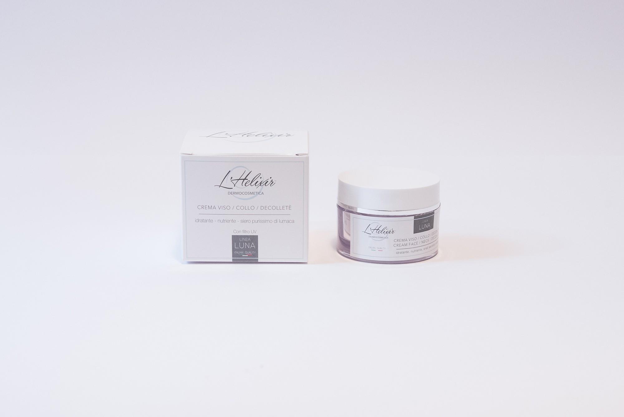 Crema Viso Collo e Decolletè - 30 ml - L'Helixir