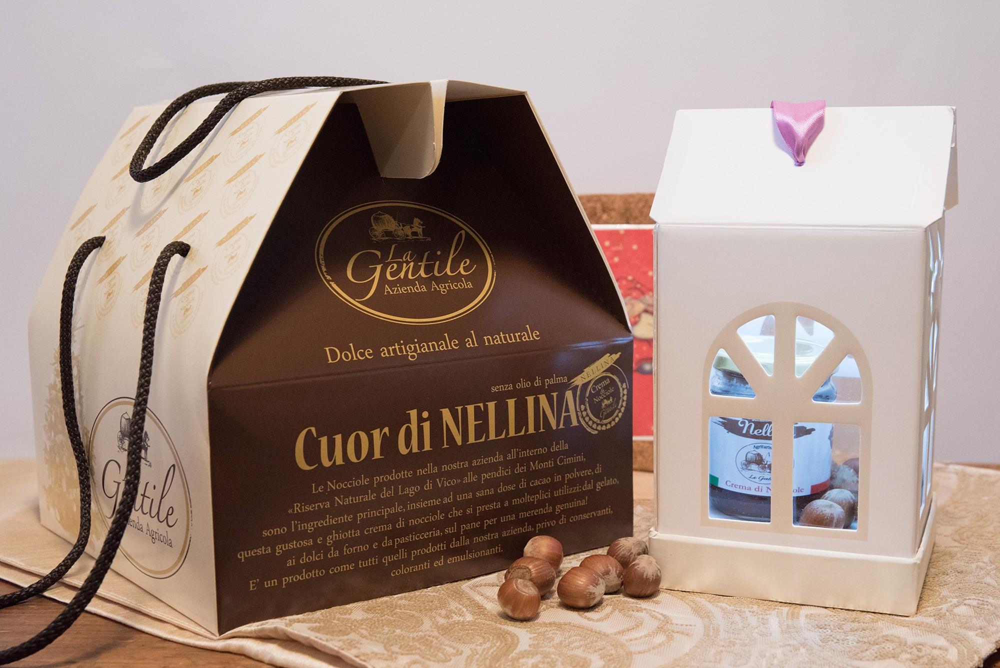 Panettone Cuor di Nellina - Dolce Artigianale al Naturale - Azienda Agricola la Gentile