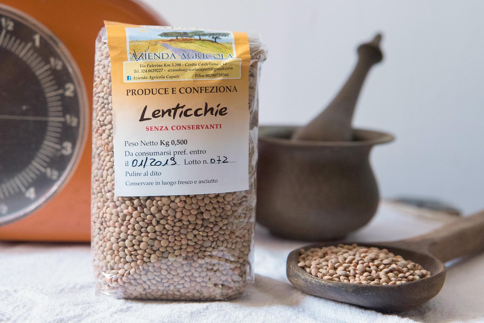 Lenticchie - 500gr - Azienda Agricola Capati