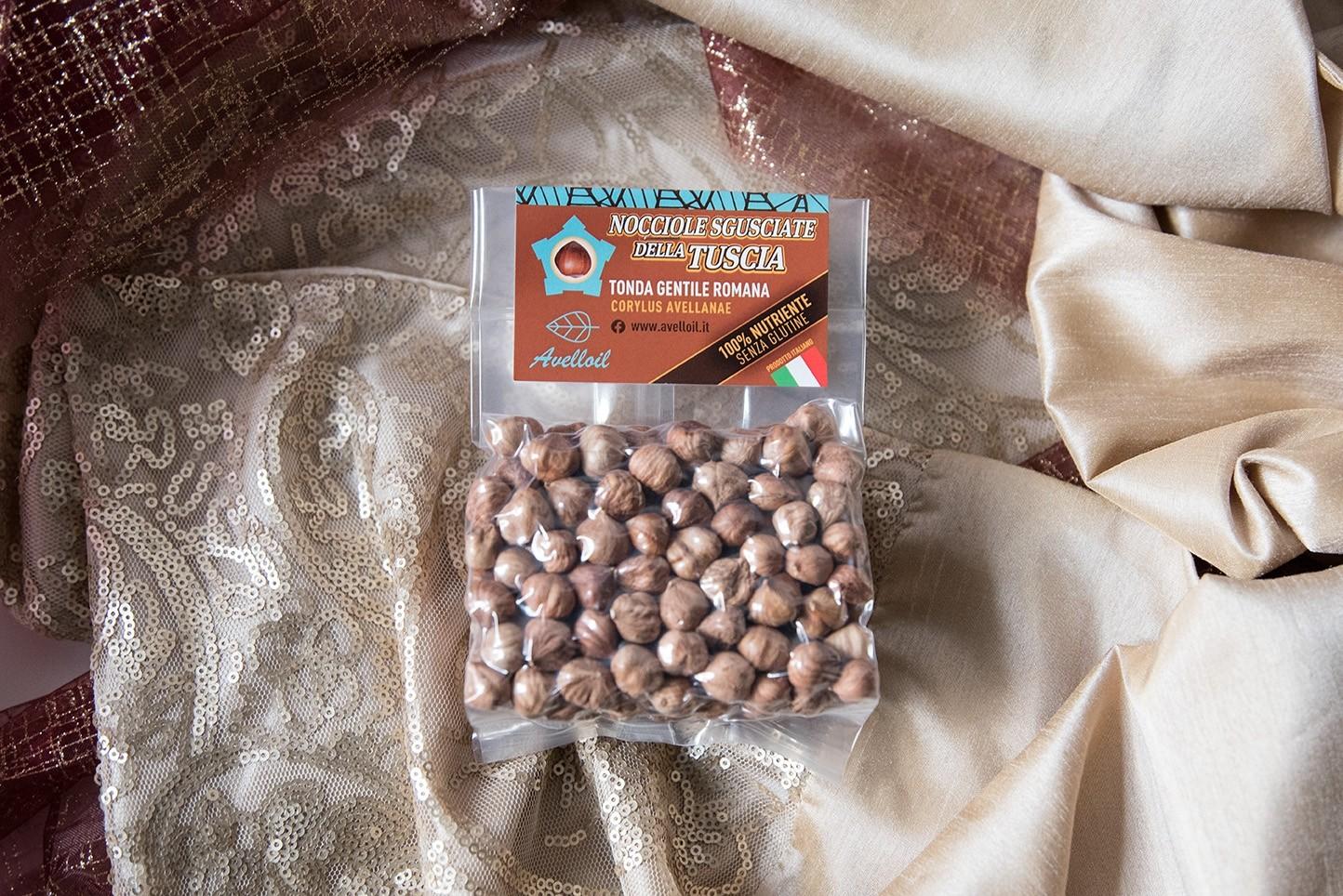 Nocciole Sgusciate Naturali della Tuscia - Avelloil - 250 gr