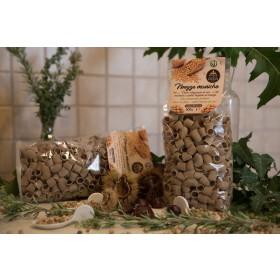 Mezze Maniche, pasta di ceci macinata a pietra e trafilata al bronzo - GoldAss - 500 g