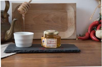 Miele con Zafferano - BioZafferano