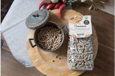 Casarecce -  Pasta di Ceci - 500gr - Azienda Agricola Goldass