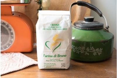 Farina di Grano Tenero Integrale - Da Bruno - 1 Kg