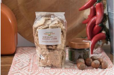Sfizi salati alle nocciole e erbe Magiche 160 g - Sapori di Ieri