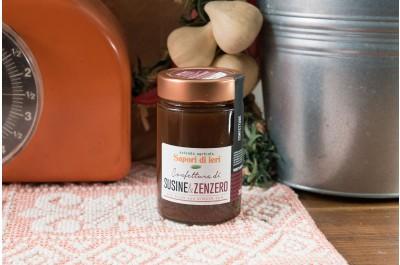 Confettura di Susine e Zenzero 210 g - Sapori di Ieri