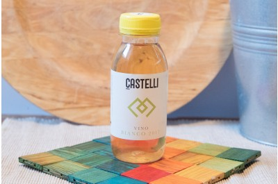 Vino Bianco IGT Lazio - 250 ml - Az. Agr. Castelli Debora