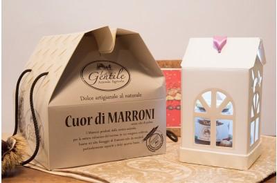 Panettone Cuor di Marroni - Dolce Artigianale al Naturale - Azienda Agricola la Gentile