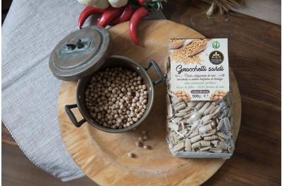 Gnocchetti Sardi Pasta di Ceci - 500gr - Azienda Agricola Goldass