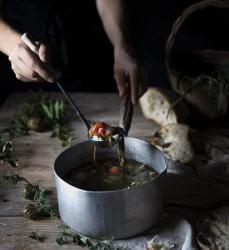 Ricetta Acquacotta - Uno dei piatti tradizionali del viterbese