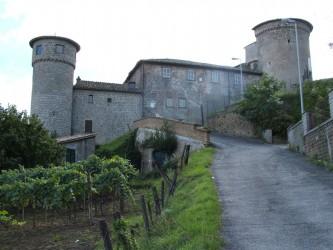 Il Castello Anguillara di Canepina