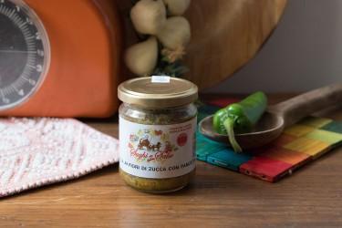 Gricia ai fiori di zucca con pancetta - 200g - Azienda Agricola la Gentile