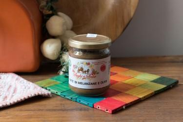 Patè di Melanzane e Olive - 200gr - Azienda Agricola la Gentile