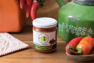 Salsa Piccantissima di Habanero Chocolate - Da Bruno