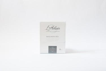 Maschera Viso - Siero Purissimo di Lumaca - 2pz - L'Helixir