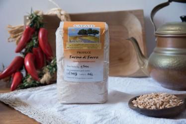 Farina di Farro - 500gr - Azienda Agricola Capati