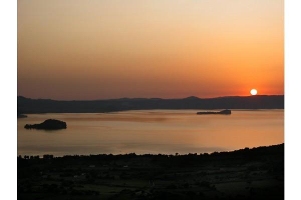 Il lago di Bolsena