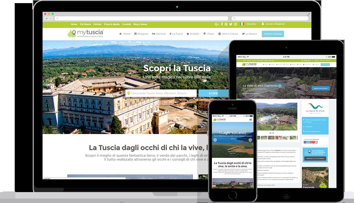 Presentazione sito MyTuscia: Il portale italiano sulla Tuscia
