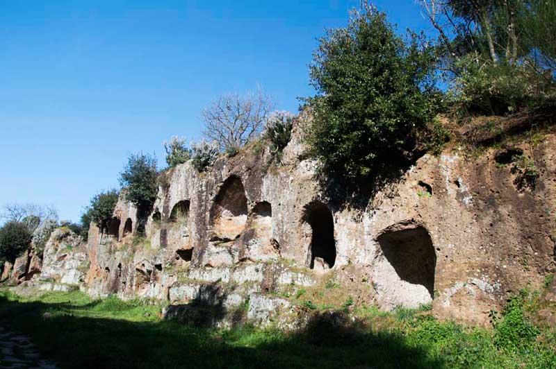La terra dei Falisci, antichi abitanti della Tuscia