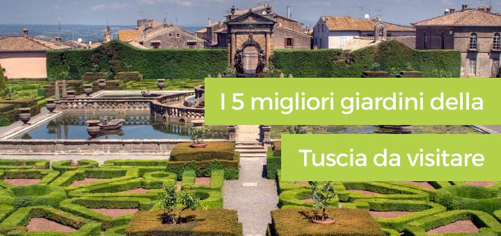 I 5 migliori giardini della Tuscia da visitare