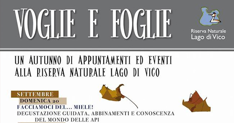 Voglie e Foglie: l'autunno al lago di Vico - dal 20 Settembre al 29 Novembre 2015
