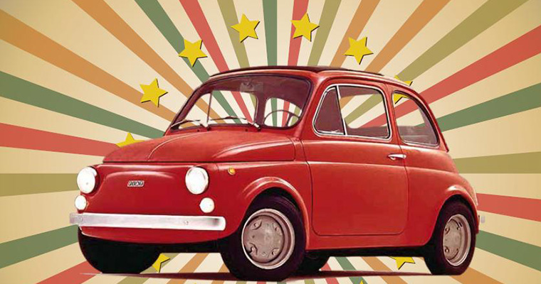 Raduno Fiat 500 e Vespe a Bagnoregio: 17 e 18 Ottobre 2015