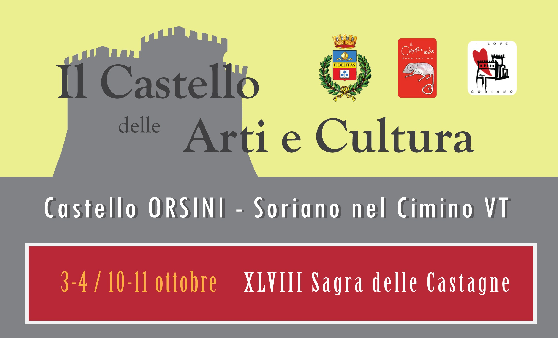 Il Castello dei Sapori a Soriano nel Cimino: 17 - 18 Ottobre 2015