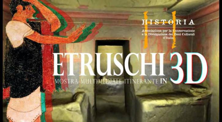 Etruschi 3D - 24 Ottobre 2015 - 4 Maggio 2016