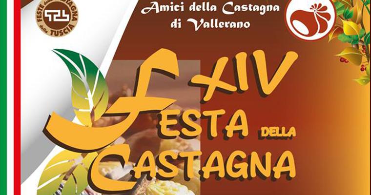 Sagra della Castagna di Vallerano: 10 Ottobre - 1 Novembre 2015