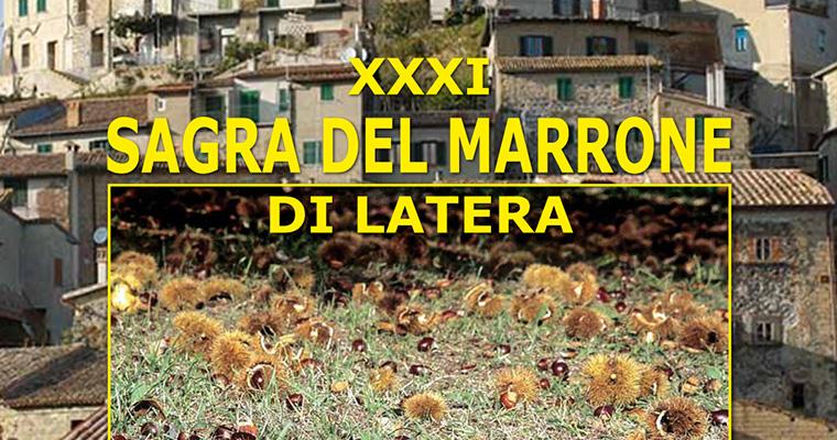 Sagra del Marrone di Latera: 17 - 25 Ottobre 2015