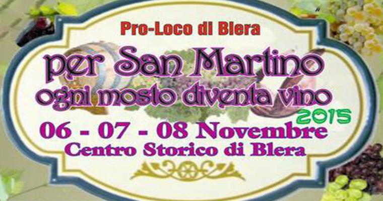 Festa di San Martino a Blera: 6-8 Novembre