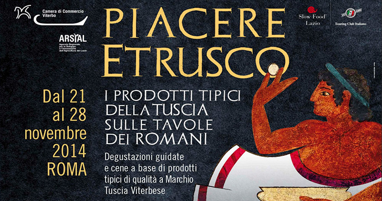 Piacere Etrusco: Roma 18 - 27 Novembre