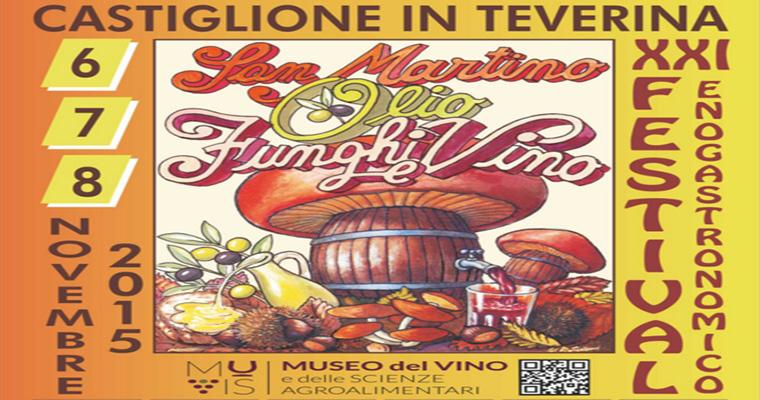 Festa di San Martino a Castiglione in Teverina: 6-8 Novembre 2015