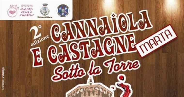 Cannaiola e Castagne a Marta: 8 Novembre 2015