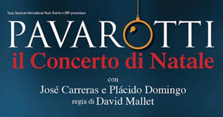 Pavarotti  - Il Concerto di Natale: Viterbo 14 - 15 Dicembre