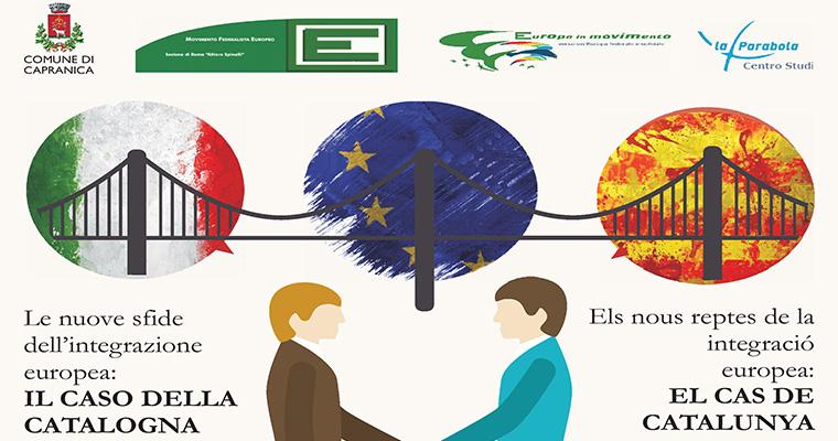 Le nuove sfide dell'integrazione europea: il caso della Catalogna - 11 Dicembre Capranica