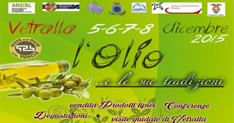 Festa dell' olio a Vetralla: 5 - 8 Dicembre
