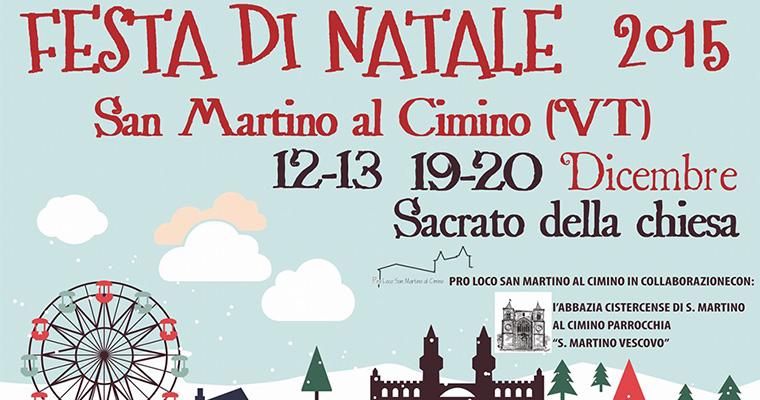 Festa di Natale: San Martino al Cimino 12-13 e 19-20 Dicembre