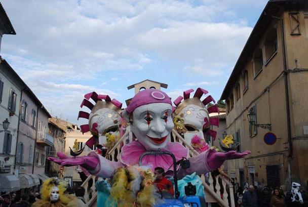 Carnevale nella Tuscia: una tradizione unica