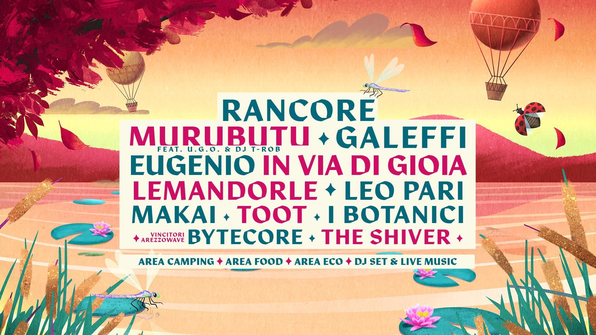 Eco sound Fest a Caprarola: 27 - 29 Luglio
