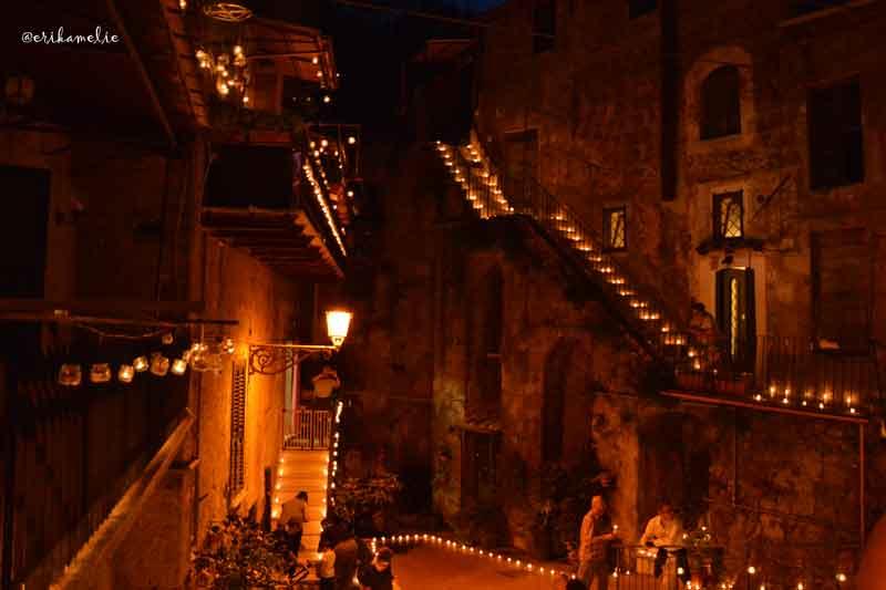 La notte delle Candele a Vallerano: luci e magia