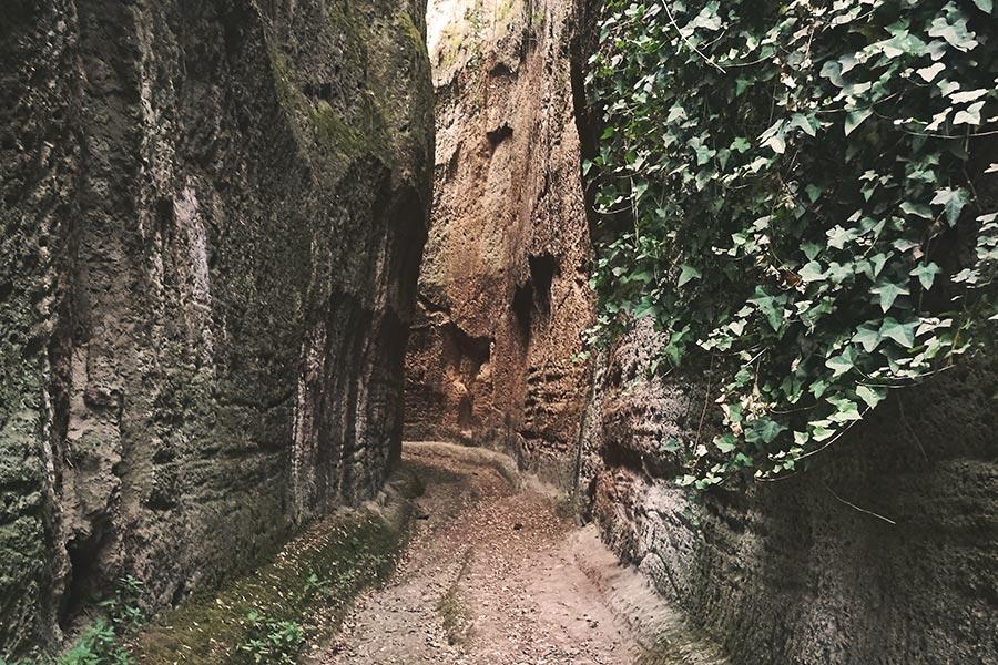 Itinerari naturalistici della Tuscia: i Monumenti Naturali di Corchiano