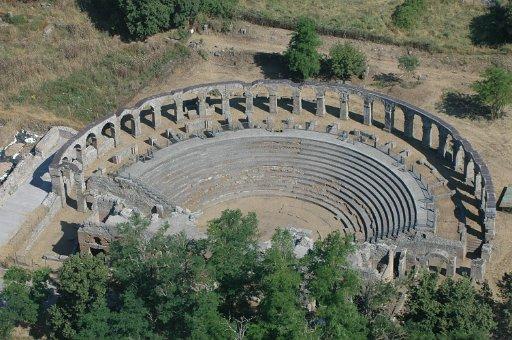 Visitare l'area archelogica di Ferento nella Tuscia